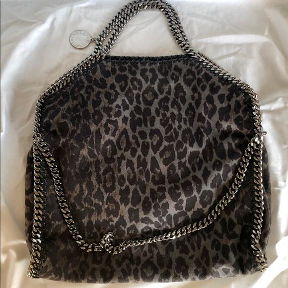 bfaf56ea8c61 Stella McCartney Bags   Falabella Leopard Small Tote   Poshmark